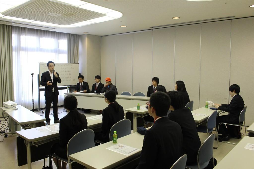 2017年新卒対象の奈良本社会社説明会