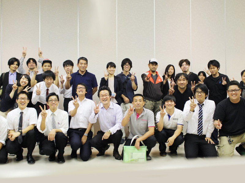 7月度イベント21奈良本社全体会議「武勇伝を語ろう!」