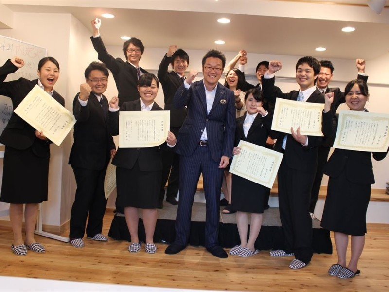 奈良本社に続いて、イベント21関東(東京支店・神奈川支店)合同内定式を開催しました!