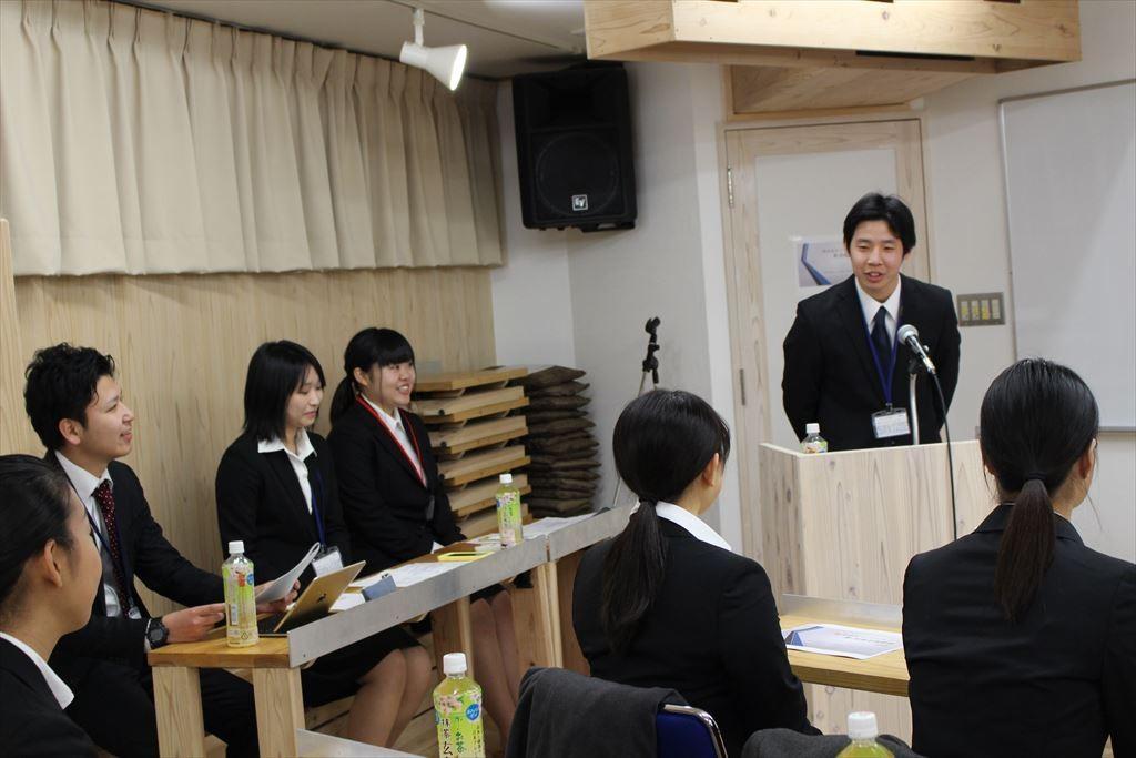 第一回会社説明会in東京 説明会の様子