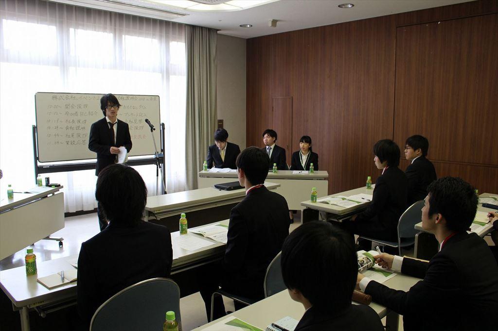 2018年新卒対象の奈良本社会社説明会
