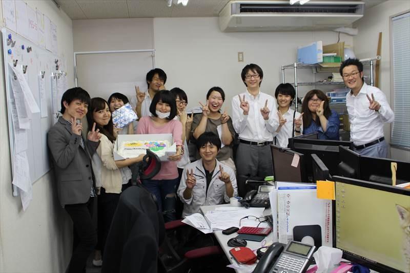 アニバーサルパーティ略して「アニパ!」新しい企業文化誕生。関東出張。