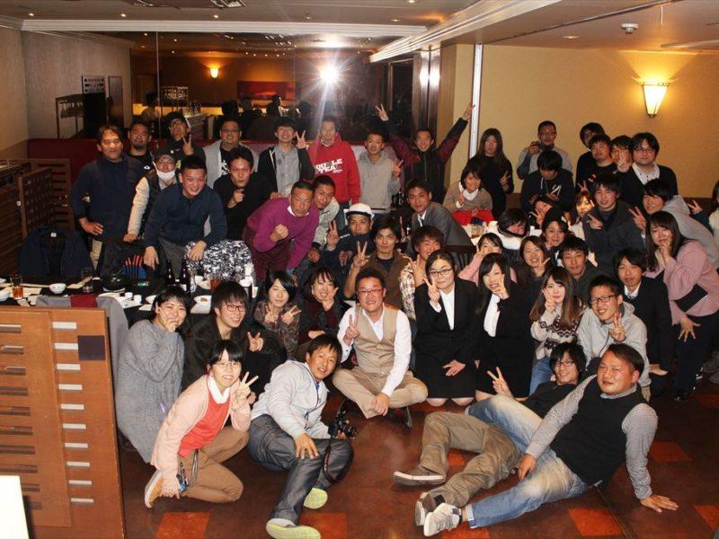 イベント21関西合同忘年会2017(奈良本社と大阪支店)