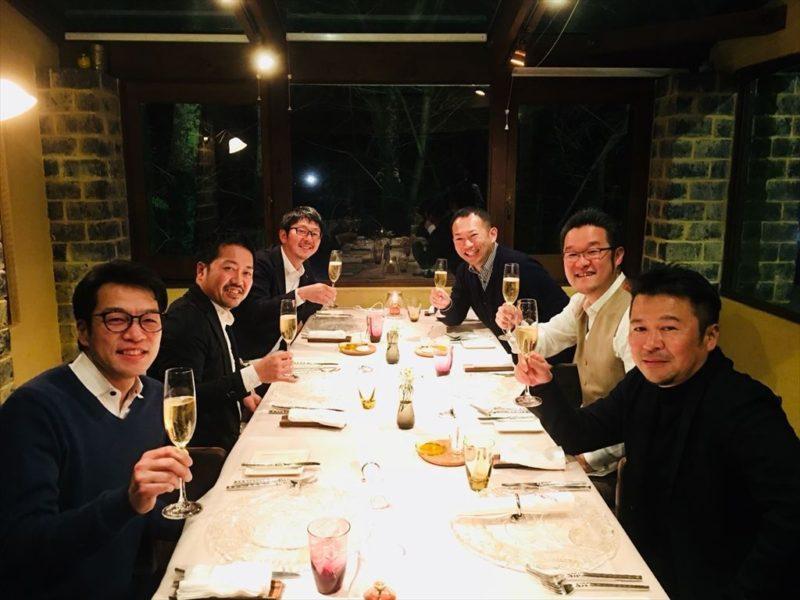 奈良の経営者仲間達と経営話 / 経営者は旅をする。