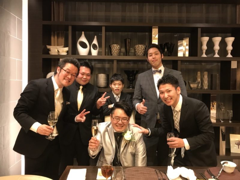 横浜で社員の結婚式に出席しました^^