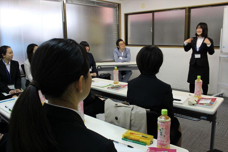 第一回会社説明会in関東 説明会の様子