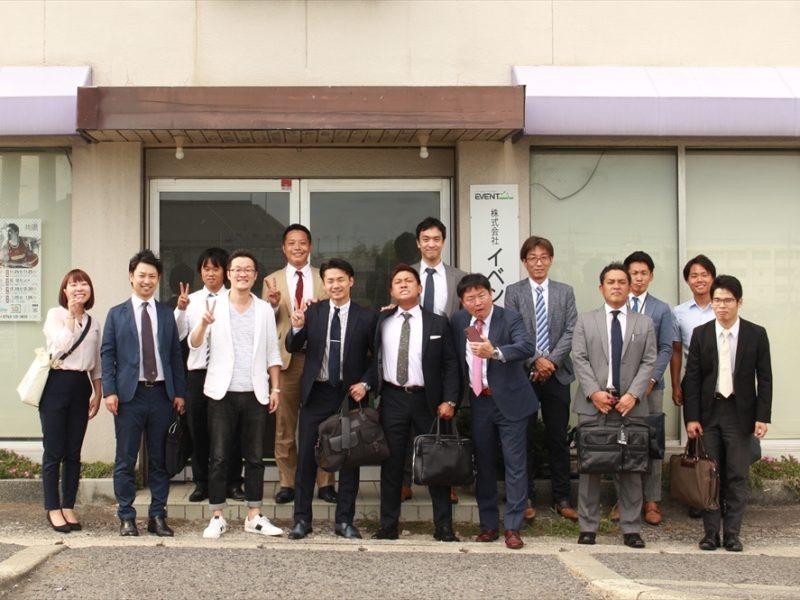 奈良本社への会社訪問おもてなし3件。富山同友会、コアバリュー経営協会仲間のダイキチカバーオール、鳥取同友会の3本立て