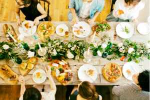 皆でお食事パーティー!
