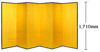 金屏風(5.7尺)