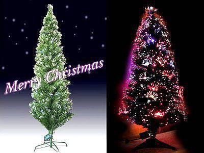 高輝度LEDファイバーツリー グリーン(全高180cm) レンタル