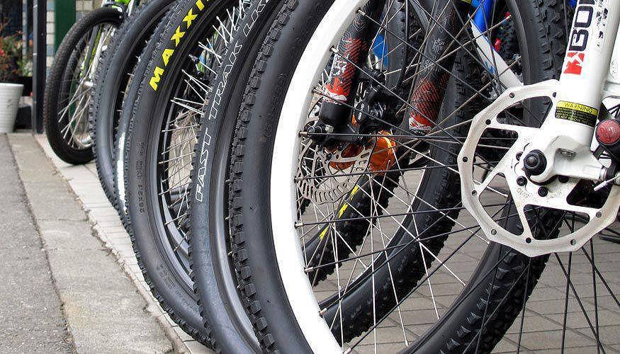 自転車の試乗会では、車よりお ...