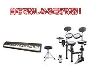 自宅で楽しめる電子楽器