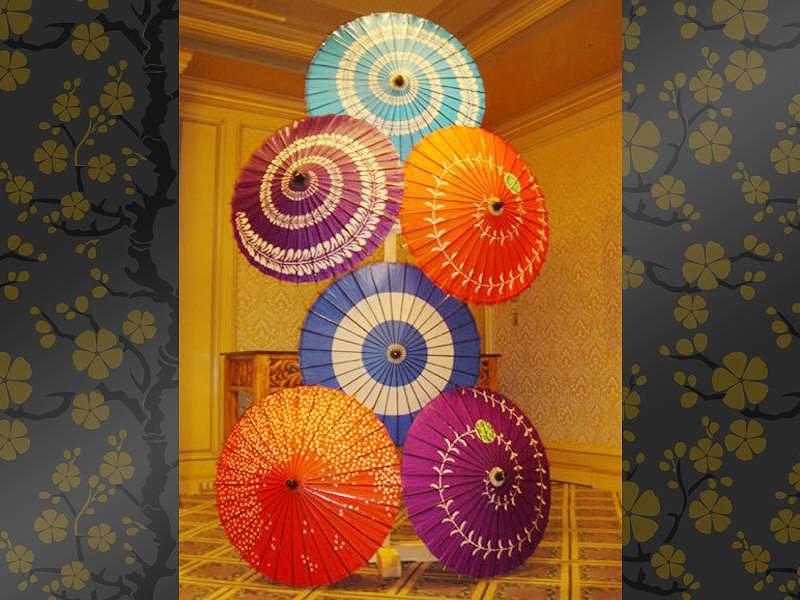 和傘タワー レンタル