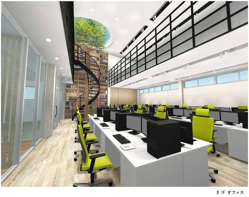 奈良本社ビル 1Fオフィス