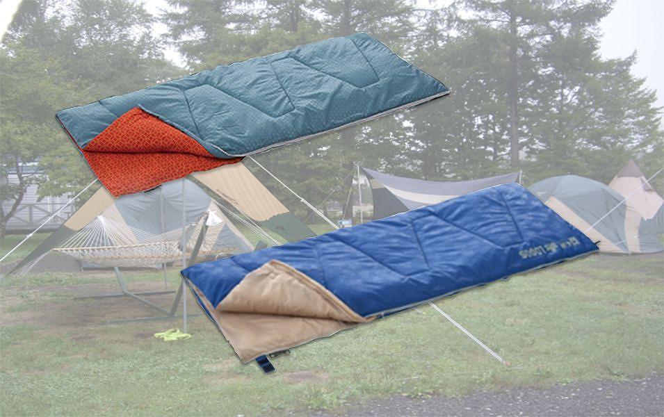 屋外キャンプ用寝袋 レンタル