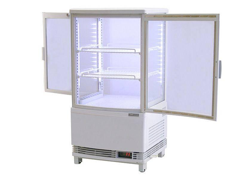 光る冷蔵ショーケース 詳細画像