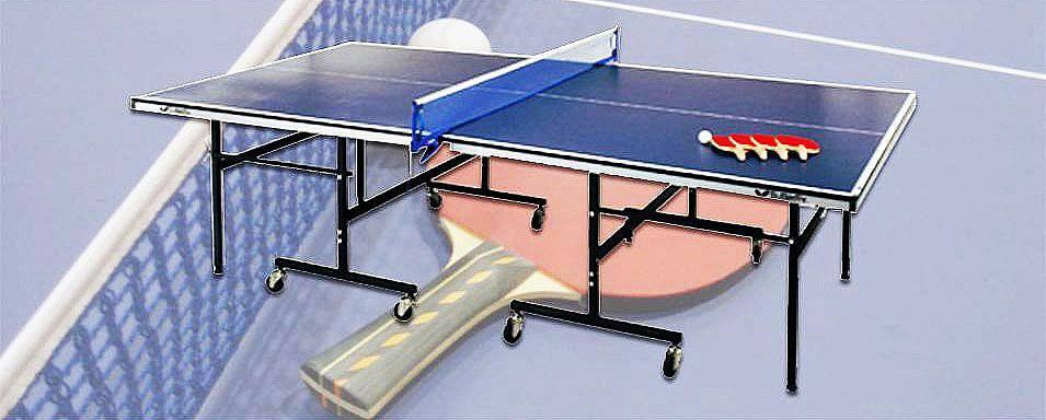 ラケット付き卓球台 レンタル