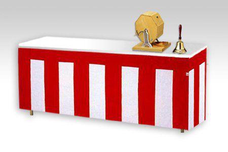 紅白幕テーブルクロスセット レンタル