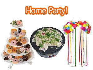 Item for Home Party!